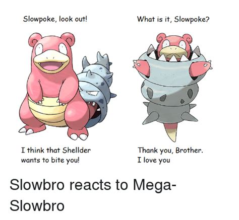 Slowbro Meme - funny shellder memes of 2016 on sizzle ass