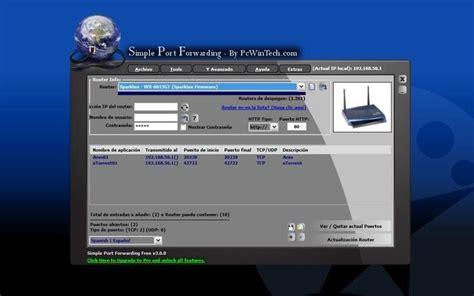 forwarding emule abrir puertos router simple forwarding unusuario