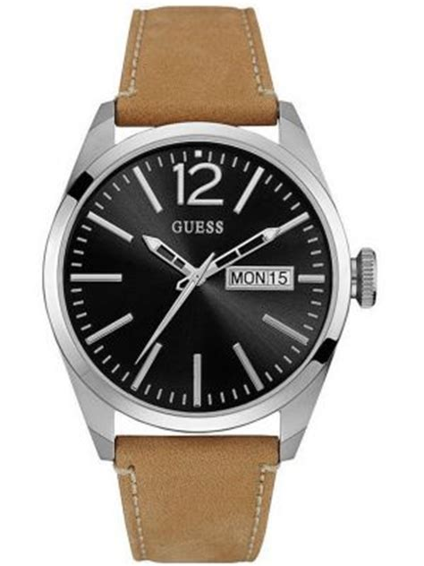 Guess Romawi Date Leather White guess watches view the creative co range