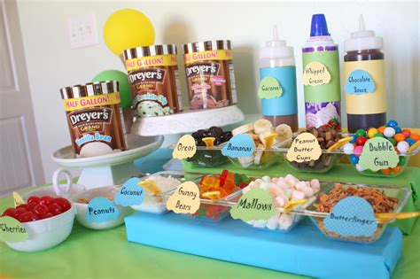 toppings for ice cream sundae bar ice cream bars recipe dishmaps