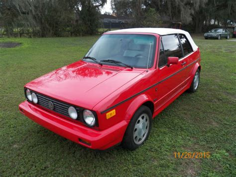 how to fix cars 1992 volkswagen cabriolet electronic throttle control 1992 vw golf rabbit cabriolet mk1 wolfsburg classic volkswagen cabrio 1992 for sale