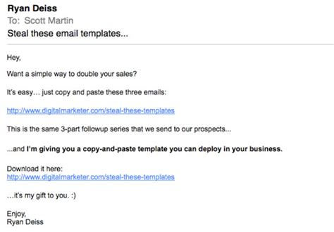 how to write a promotional email