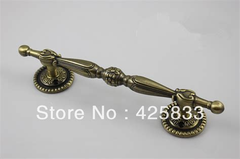 Decorative Drawer Pulls And Knobs by 2 Pcs Bronze Zinc Alloy Furniture Wardrobe Decorative