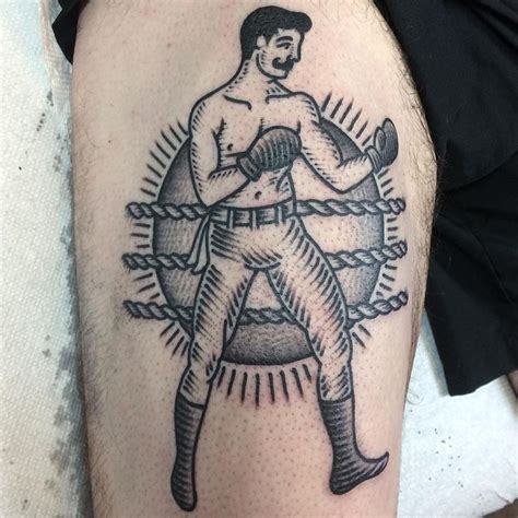 boxing tattoo best 25 boxer ideas on traditional