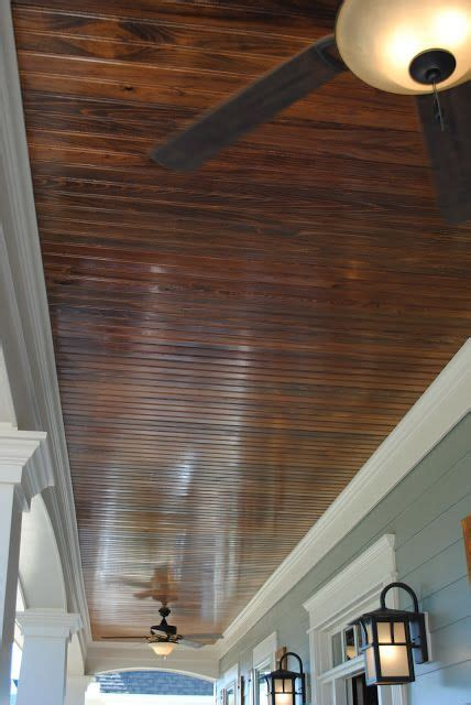 Outdoor Wood Ceiling Planks Front Porch Ceiling Home Sweet Home