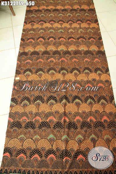 Kain Batik 72 Premium Soga 1 batik klasik nan elegan kain batik tulis soga khas jawa
