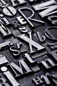 designer cover letters metal type type eh