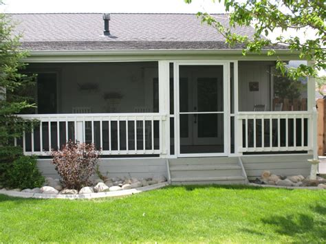 Screen Porch Enclosures Screened In Porches For Mobile Homes Studio Design