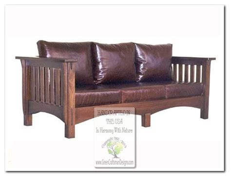 mission style sofa mission style sofas craftsman sofas chicago by green craftsman designs inc