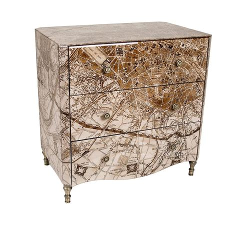 Map Chest Of Drawers by Map Of Chest Of Drawers By Out There Interiors