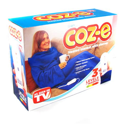 As Seen On Tv Blankets ion coz e heated blanket with sleeves as seen on tv