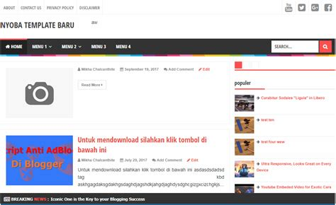 cara membuat gif loading cara membuat floating widget breaking news headline news