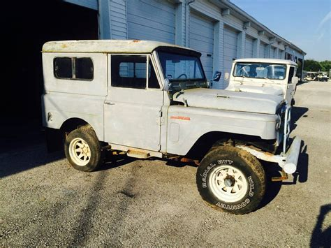 1967 nissan patrol 1967 nissan patrol 4x4 project for sale in bowling green