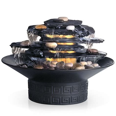 homedics envirascape rock garden relaxation fountain