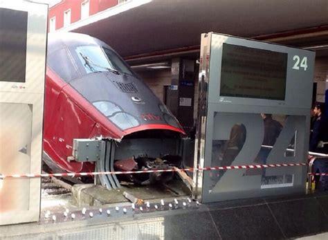 italo treno interni il treno ad alta velocit 224 non frena in tempo alla