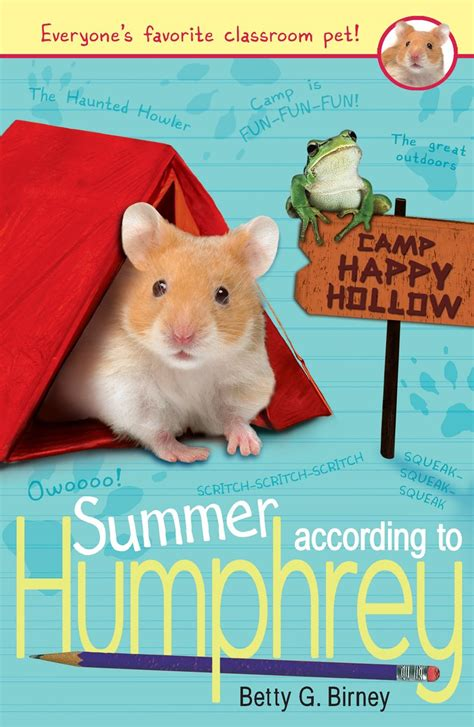 Betty The Book summer according to humphrey by betty g birney scholastic