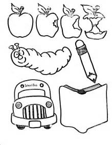coloring supplies school supplies coloring page az coloring pages