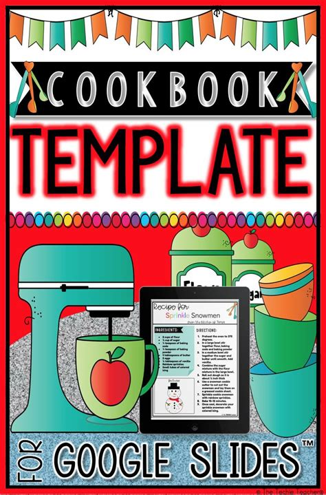 Digital Cookbook Template
