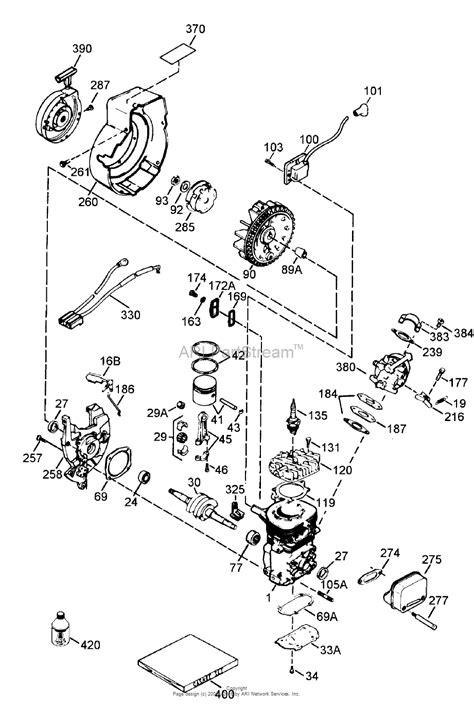 toro  ccr powerlite snowthrower  sn   parts diagram  engine