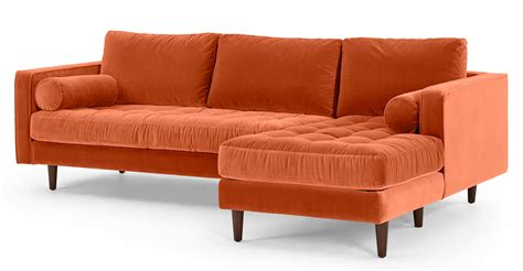 burnt orange sleeper sofa 20 best burnt orange sofas sofa ideas