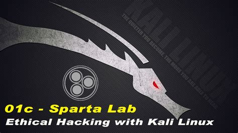 kali linux sparta tutorial kali linux for ethical hacking info gather with sparta