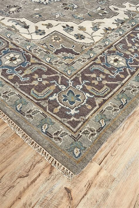 Rug For by Knotted Rug Ivory Walnut Rug