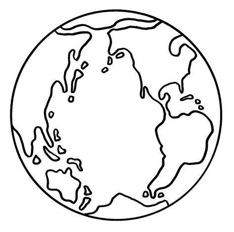 coloring page of globe free printable earth coloring pages for kids
