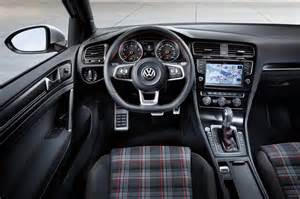 volkswagen golf 7 gti interieur