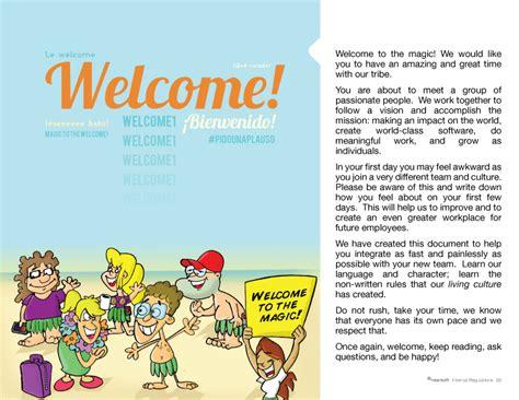new employee handbook template nearsoft s illustrated new employee handbook slides