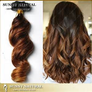 ombre extensions fashion ombre clip in hair extensions human hair wave 3tone clip in hair