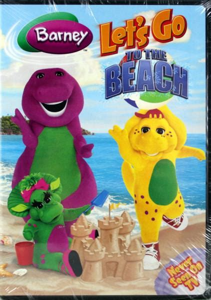 barney and friends dvd barney let s go to the new dvd educational