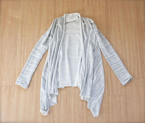 cardigan pattern sewing free easy diy asymmetrical draped cardigan sewing pinterest