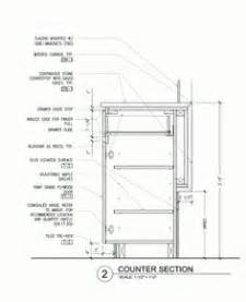 bar counter detail drawing google search construction