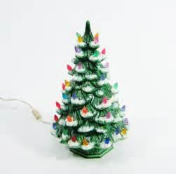 1970s ceramic christmas tree