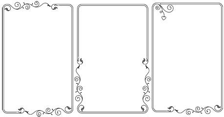 large decorative frame decorative frame vector free vector in encapsulated