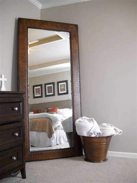big mirror for bedroom 1000 ideas about floor length mirrors on pinterest