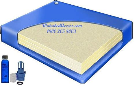 80 semi waveless waterbed mattress for california king and single water beds
