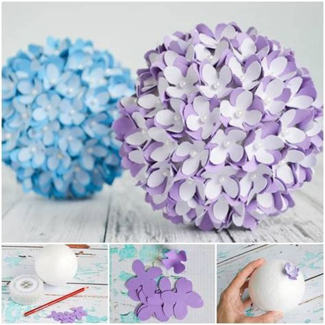 78 Best ideas about Paper Flower Ball on Pinterest   Crepe