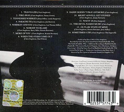 cover of chris stapleton s comeback song chris stapleton traveller audio cd new ebay