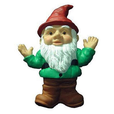 lawn gnome write me happy booker my trusted writing gnome