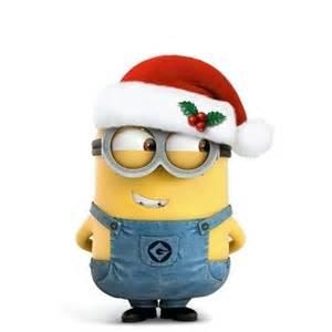 christmas snow heart minions christmas