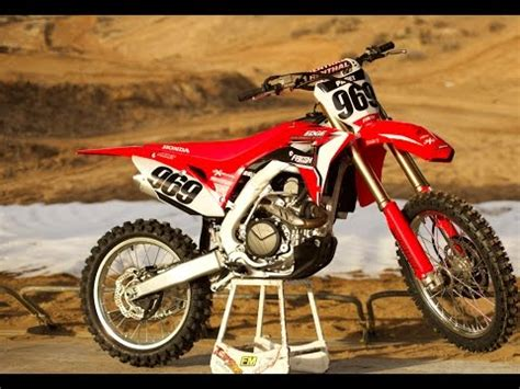 2017 honda crf450r first review impressions youtube