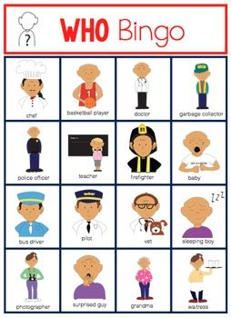 wh questions printable flash cards wh question bingo by the autism helper teachers pay