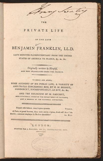 biography title benjamin franklin s autobiography finding franklin a