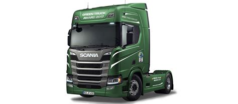 scania trucks scania wins green truck award 2017 scania