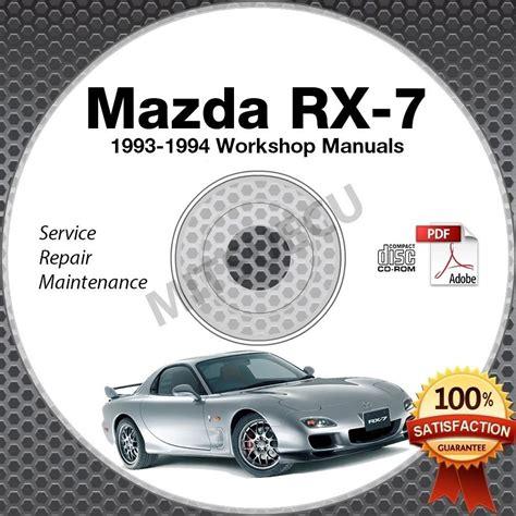 manual repair free 1994 mazda b series windshield wipe control 1993 1994 mazda rx7 fd service repair manual cd 1993 1994
