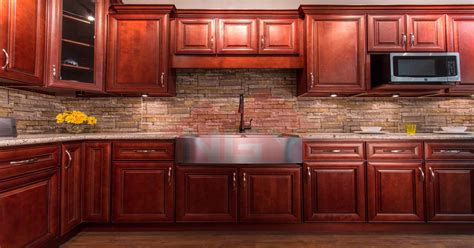 ngy stone cabinet inc cherry stain maple kitchen cabinets home everydayentropy com