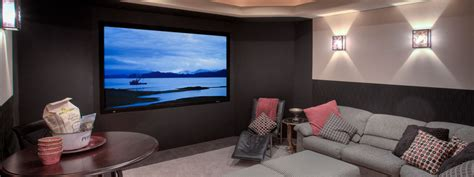 custom home theater home automation installation in