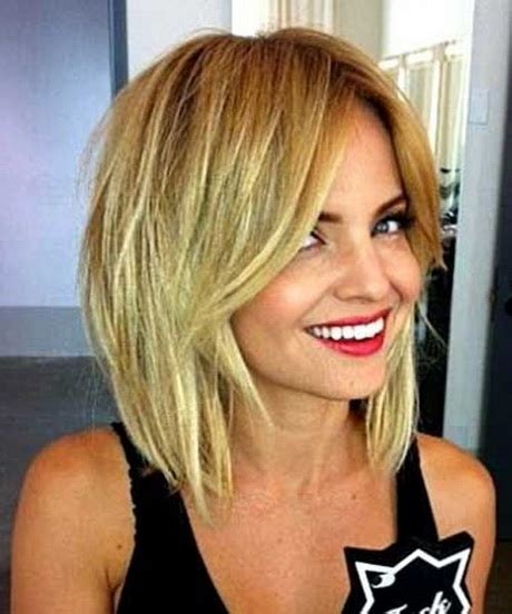 Medium Hairstyles With Bangs 2016 by Layered Haircuts With Bangs 2016