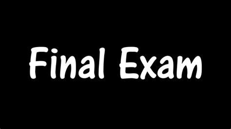 Home Study Design Tips by Final Exam Speech